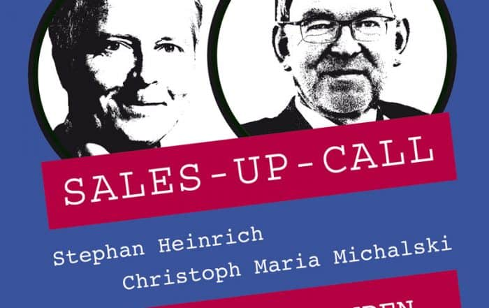 Cover Sales-up-Call mit Christoph Maria Michalski