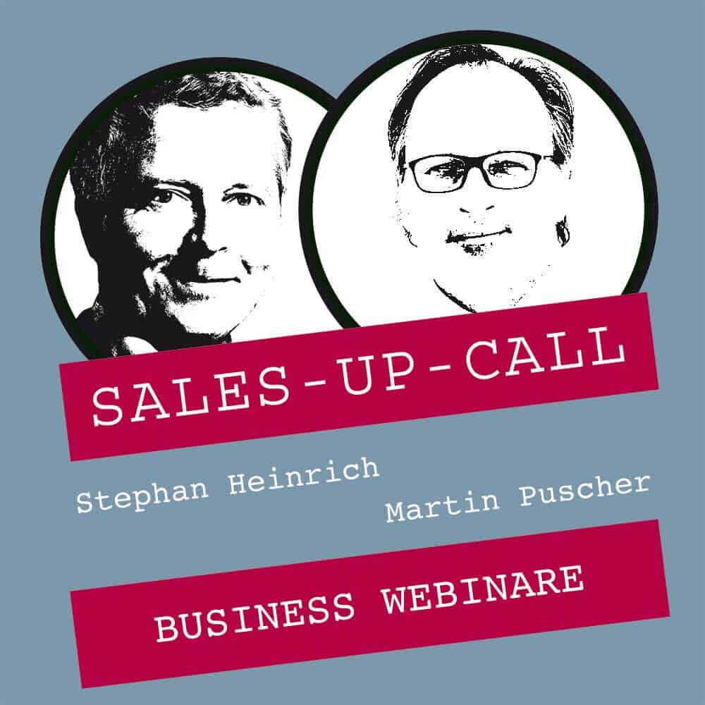Sales up Call mit Martin Puscher