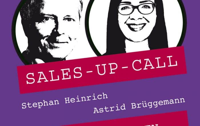 Cover Sales-up-Call mit Astrid Brüggemann